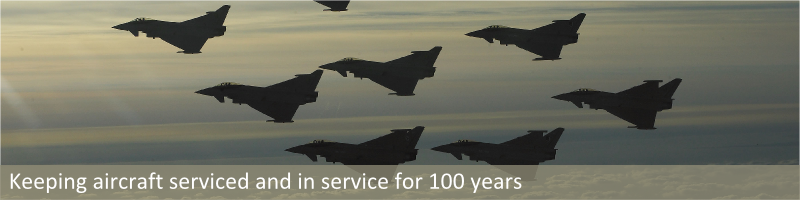 Keeping aircraft serviced and in service for 100 years